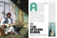 AFGHANISTAN It is Afghanistan's national instrument with a dark ...