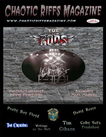 Chaotic Riffs Magazine - Issue 1 - The Rods