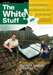 through the roof energy savers on trial - Arla Foods Milk Partnership