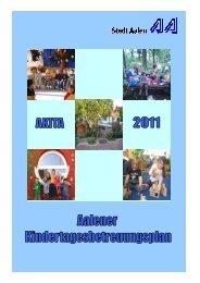 Aalener Kindertages- betreuungsplan AKITA 2011 - Stadt Aalen