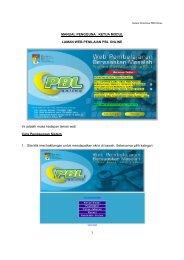1 MANUAL PENGGUNA : KETUA MODUL LAMAN WEB ... - Web PBL
