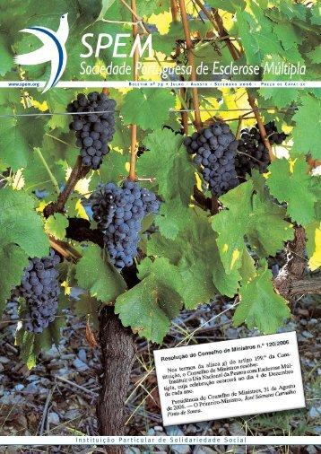 Boletim n.º 73 - 3º Trimestre 2006 (formato PDF) - SPEM