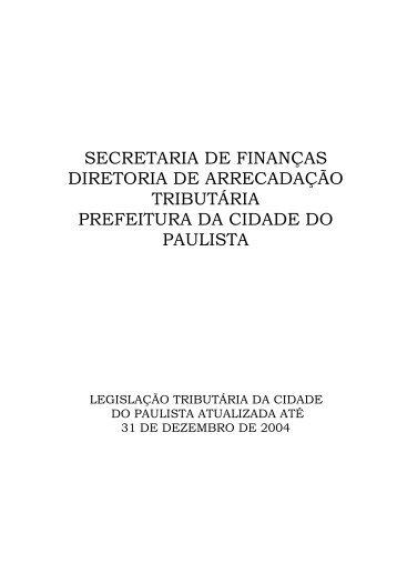 Lei Tributária - upenet.com. BR