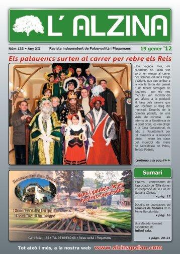 Revista núm. 133 - L'Alzina