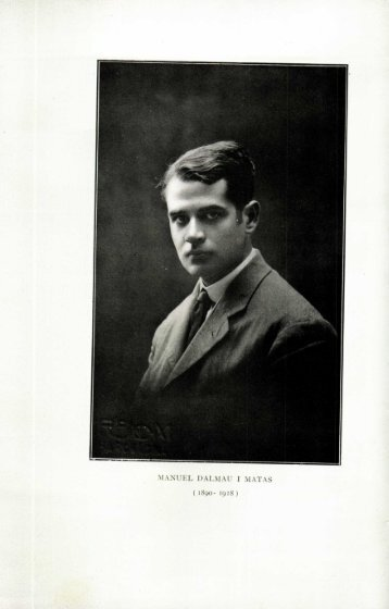 Manuel Dalmau i Matas (1890-1918) - Portal de Publicacions