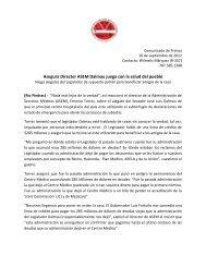 Asegura Director ASEM Dalmau juega con la salud del pueblo
