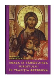 Boala si tamaduirea sufletului in traditia ortodoxa - Tineretul Ortodox