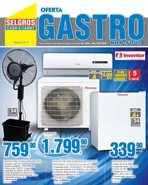 16-17 Gastro NF electro f.indd - Selgros