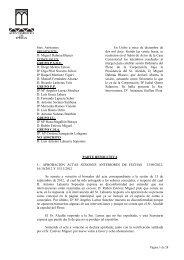 Sres. Asistentes: PRESIDENTE D. Miguel Dalmau Blanco ...