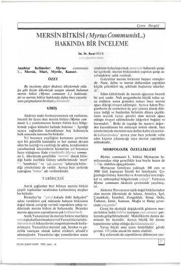 Full text: (pdf) - Ekoloji