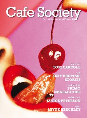tom carroll - the Cafe Society Website