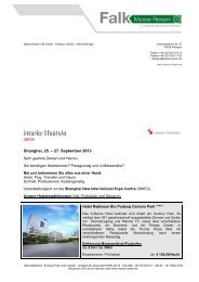 Interior Lifestyle China September - Messe Reisen Falk