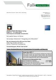 Arabia Essen Welding - Messe Reisen Falk