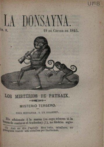 LOS MISTERIOS DE PATRAIX.