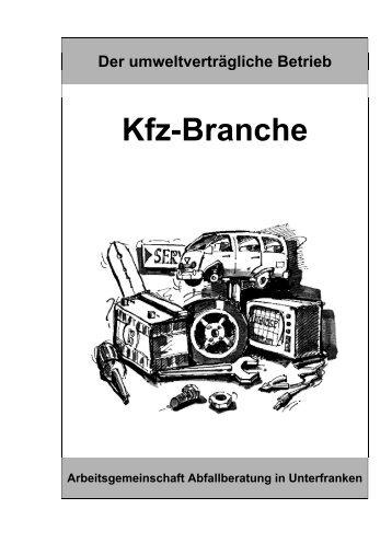 Kfz-Branche - kfz branche - Abfallberatung Unterfranken