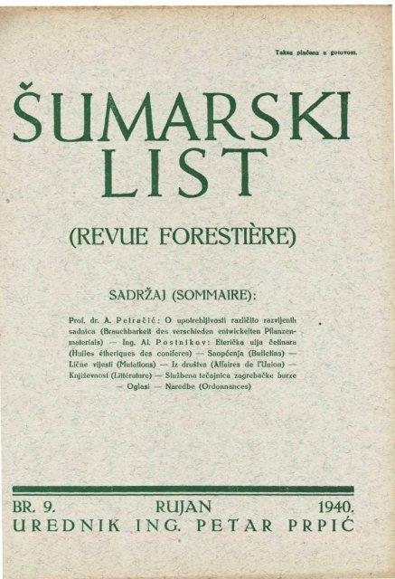 Savjeti iz 1940-ih