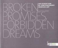 Broken Promises, Forbidden Dreams - Assar Art Gallery