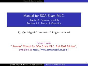 Asm Soa Exam Mfe Study Manual Mlc - waterwaste18.com