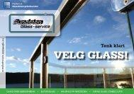 VELG GLASS! - Sundsten Glass-service