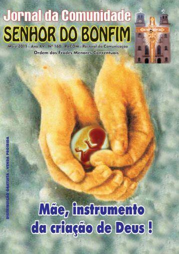 jornal bonfim 160.pmd - Paróquia Senhor do Bonfim