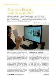 Eine neue Brücke in die digitale Welt - Metaio