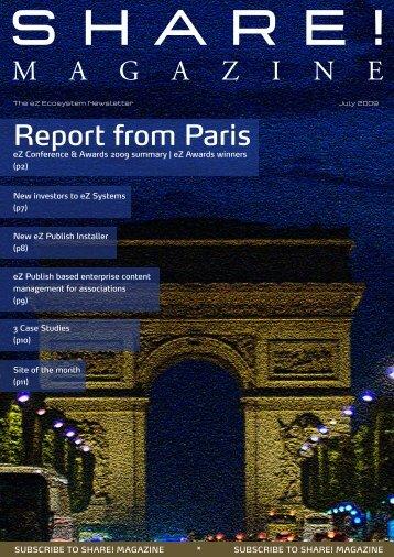 Report from Paris M A G A Z I N E - MEDIATA Communications GmbH