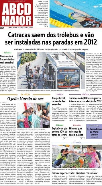 28/10/2011 Ano 06 - Nº 362 - ABCD Maior