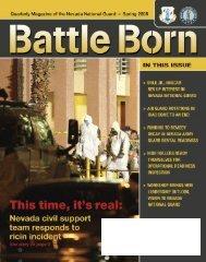 Spring 08 - Nevada National Guard - U.S. Army