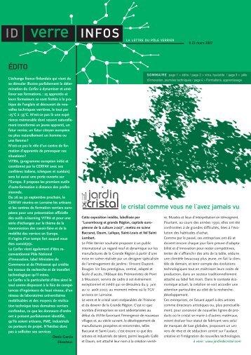 Télécharger IDverre Infos au format PDF