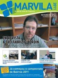 entrevista a frei fabrízio bordin - Junta de Freguesia de Marvila