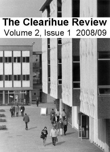 Volume 2, Issue 1 - University of Victoria
