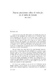 5. Nuevas precisiones sobre el verbo fer en el habla de Gistaín, por ...