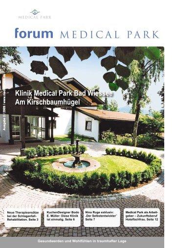 Klinik Medical Park Bad Wiessee Am Kirschbaumhügel
