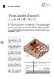 Ventilació d'acord amb el DB HS 3