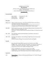 Download CV - Entomological Society of America
