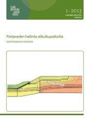 Pohjaveden hallinta alikulkupaikoilla - Liikennevirasto