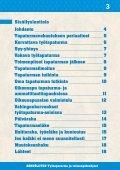 TYÖTAPATURMA JA TOIMENPIDEOHJEET - Sähköliitto - Page 3
