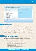 TYÖTAPATURMA JA TOIMENPIDEOHJEET - Sähköliitto - Page 7