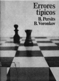 Errores típicos del ajedrez - Centro Cultural Municipal San Juan ...