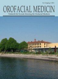 Ororfacial medicin.indd - Svensk förening för Orofacial Medicin