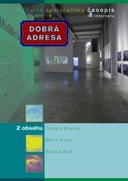 5 • 2012 - Dobrá adresa
