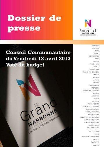 Conseil Communautaire - Le Grand Narbonne