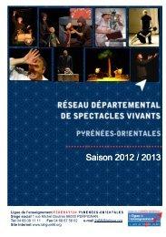Programme du réseau départemental de spectacle vivants ... - FOL66