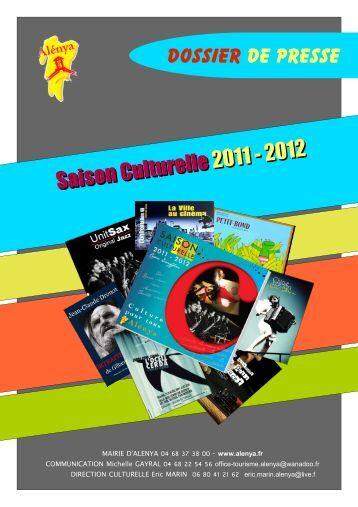 Saison Culturelle 2011 - 2012 - Archive-Host