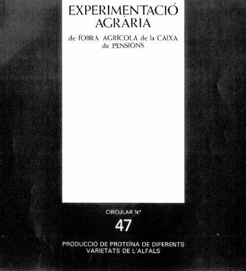 EXPERIMEN ¿ACID AGRARIA - UPCommons