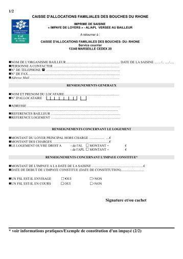 Caf Aide Logement Demande
