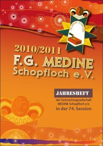 Jahresheft Session 2010/11