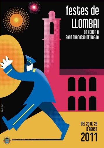 Descarregat el Llibre de Festes en PDF - Llombai