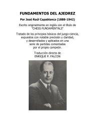 Capablanca - FUNDAMENTOS DEL AJEDREZ