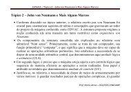 Tópico 2 – John von Neumann e Mais Alguns ... - DCA - Unicamp